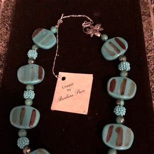 Jewelry - One of a kind turquoise necklace